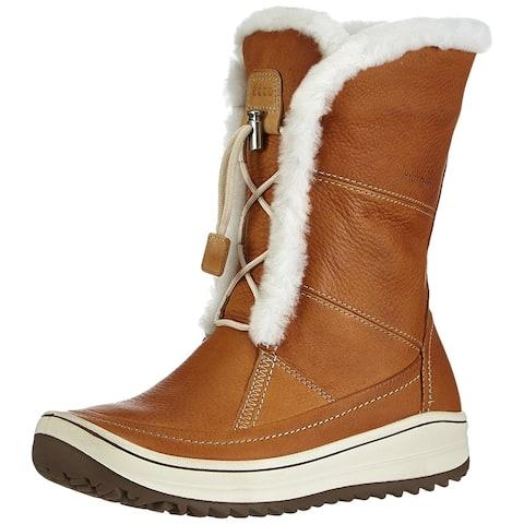 ECCO Womens Trace Leather Closed Toe Mid-Calf Fashion Boots