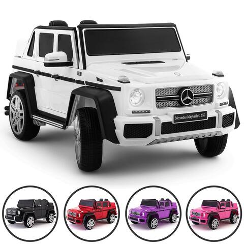 Mercedes Maybach 12V Kids Ride-On Car with R/C Parental Remote