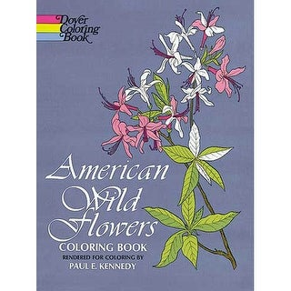 Dover - Coloring Book - American Wild Flower