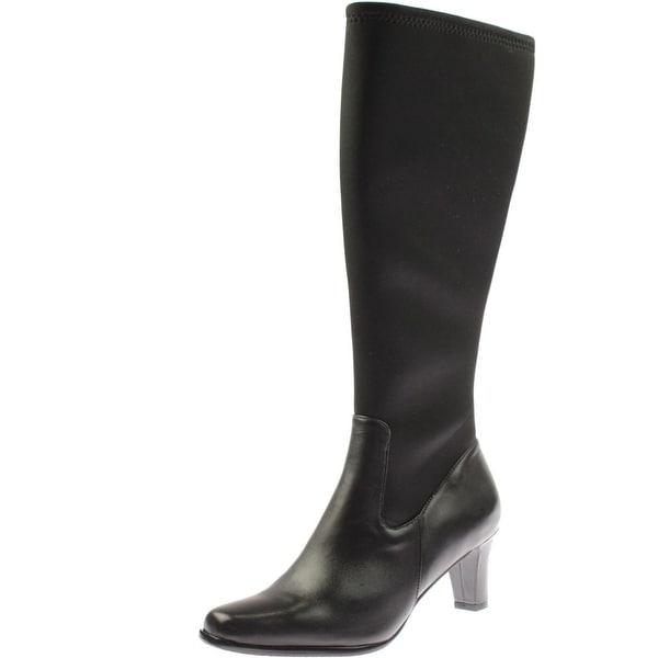 Trotters Womens Jaxson Too Knee-High Boots Neoprene