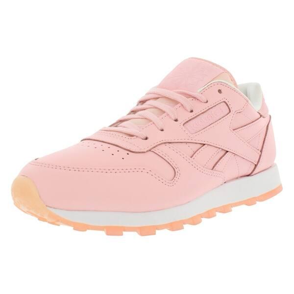 ebf438a96d Shop Reebok Cl Leather Face Casual Women's Shoes - 8 b(m) us - Free ...