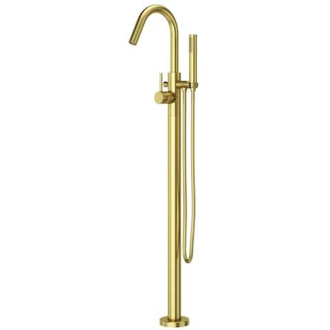 Pfister Modern Tub Filler Brushed Gold Brushed Gold (LG6-1MFBG)
