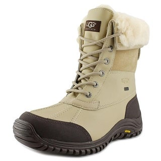 Ugg Australia Adirondack II Women  Round Toe Leather Beige Snow Boot