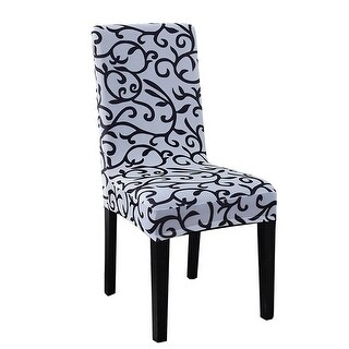 Removable Chair Covers Stretch Slipcovers Short Seat Cover