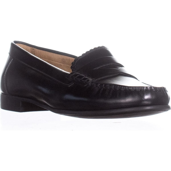 Jack Rogers Quinn Slip On Penny Loafers, Black - 7 us