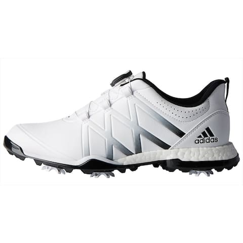 New Adidas Women's Adipower Boost BOA Golf Shoes Cloud White/Core Black F33648