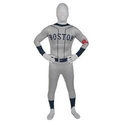 """Men's Boston Red Sox MLB Baseball Halloween Costume - standard (44-46"""" chest)"""