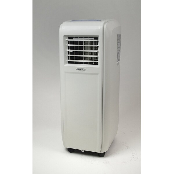 Soleus KY-80E9 8,000 BTUS Self Evaporative Portable A/C , Dehumidifier and Fan. Single hose - White
