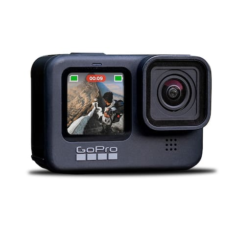New GoPro HERO9 Black - Waterproof Action Camera with Front LCD and