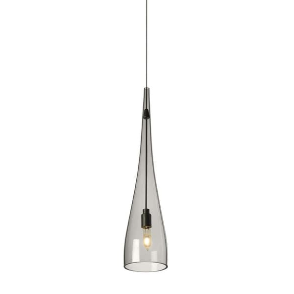 Tech Lighting 700mpcypsk Cypree 14 Tall 1 Light Monopoint Pendant With Smoke Gl N A