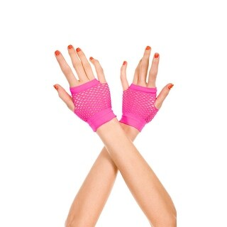 Fingerless Net Gloves - One Size Fits Most