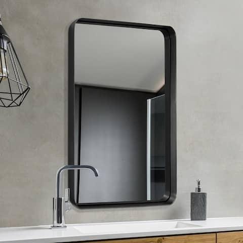 Carbon Loft Cornwell Metal Beveled Wall Mirror - 24*36*1.97
