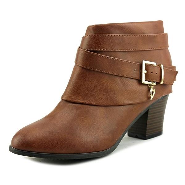 Thalia Sodi Tecap Women Cognac Boots