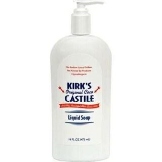 Kirk's Natural - Original Coco Castile Liquid Soap ( 2 - 16 FZ)