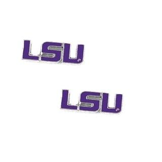 LSU Tigers Post Stud Earring NCAA Charm Set