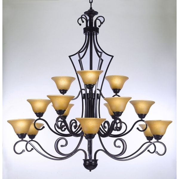 Large Entry Foyer Chandeliers : Shop large entryway foyer wrought iron chandelier lighting