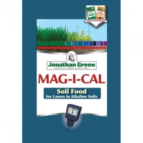Jonathan Green 12200 MAG-I-CAL Soil Food for Lawns in Alkaline Soil, 5000 Sq. Ft
