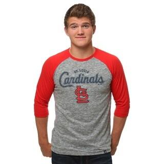 St. Louis Cardinals Fast Win Men's Raglan