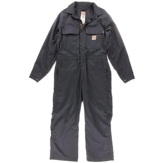 Carhartt Mens Twill Flame Resistant Coveralls - 38