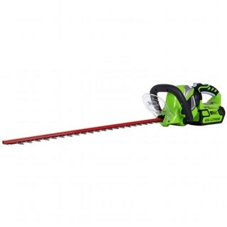 Greenworks 22262 40V Gmax 2.0Ah 24 in. Hedge Trimmer