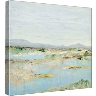 """PTM Images 9-97885  PTM Canvas Collection 12"""" x 12"""" - """"Coastal View 8"""" Giclee Beaches Art Print on Canvas"""
