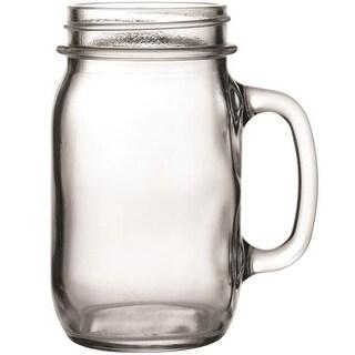 Anchor Hocking 10861 Mason Jar Mug, 16 Oz