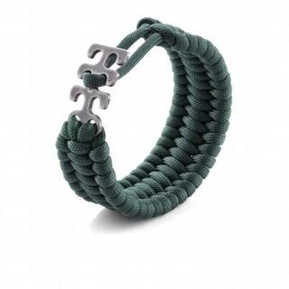 Crkt 9400G Adjustable Paracord Bracelet - Green