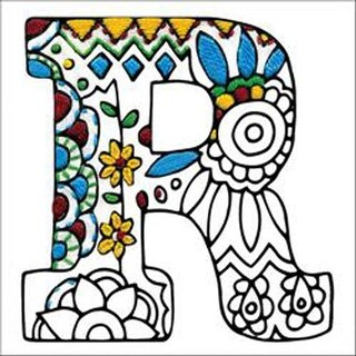 """R - Design Works/Zenbroidery Stamped Embroidery 5""""X5"""""""
