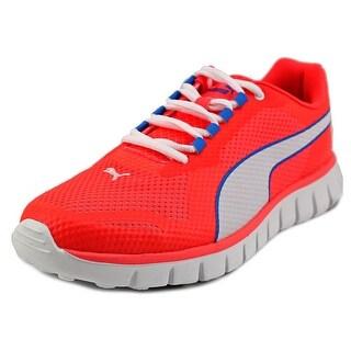 Puma Blur Men Round Toe Canvas Pink Tennis Shoe
