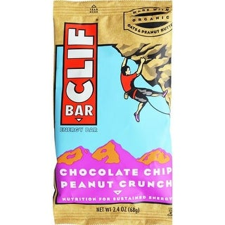 Clif Bar - Chocolate Chip Peanut Crunch Clif Bar ( 12 - 2.4 OZ)