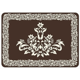 204911152231 Falcon Crest Mat in Chocolate - 1.83 ft. x 2.58 ft.