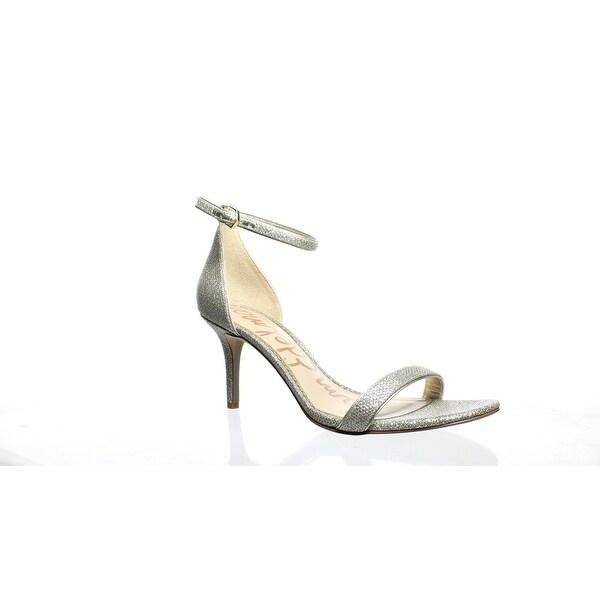 b63e5c5a5ae1 Shop Sam Edelman Womens Patti Jute Glam Mesh Ankle Strap Heels Size ...