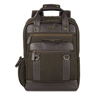 Solo Bradford Backpack, Olive Denim-Espresso Bradford Backpack, Olive Denim/Espresso