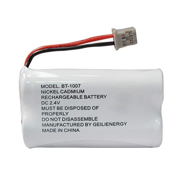 Replacement For Panasonic HHR-15F2G1 Cordless Phone Battery (600mAh, 2.4V, Ni-MH)