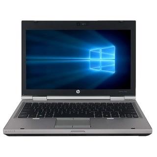 "Refurbished HP EliteBook 2560P 12.5"" Laptop Intel Core i3-2310M 2.1G 4G DDR3 250G DVDRW Win 10 Pro 1 Year Warranty - Silver"