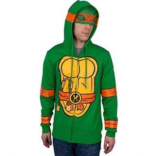 I Am Michelangelo Teenage Mutant Ninja Turtles Zip Up Hoodie