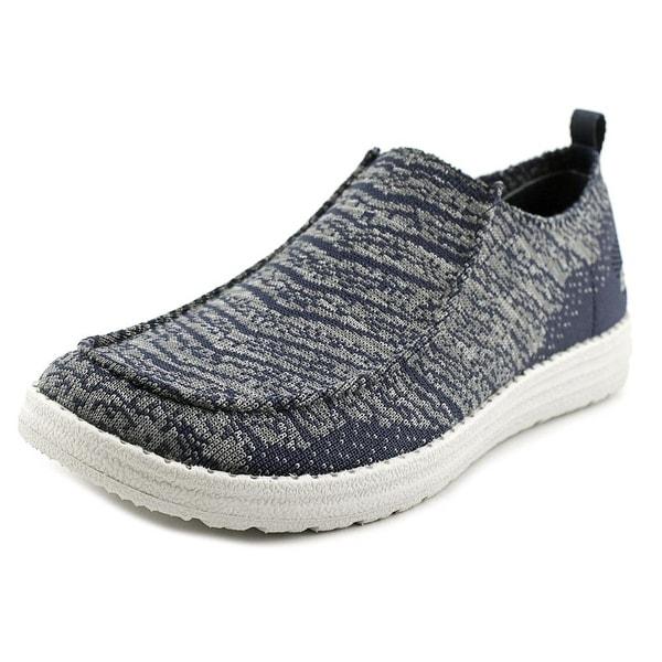 Skechers Melson - Rostic Men Moc Toe Canvas Loafer