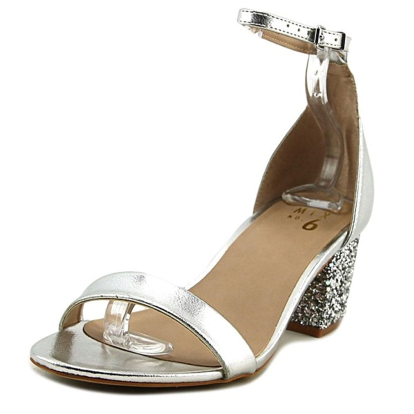 2e439c38527 Shop Mix No 6 Lexine Silver Sandals - Free Shipping Today - Overstock.com -  19809851