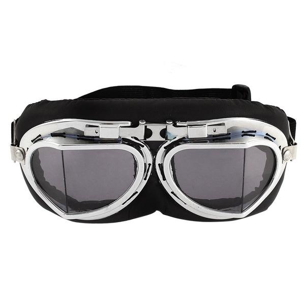 Shop Bicycle Full Frame Black Lens Ski Motorcycle Goggles Wind