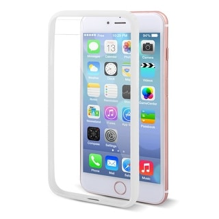 Plastic Protection Corner Drop Protection Shell Phone Case White for iPhone 7