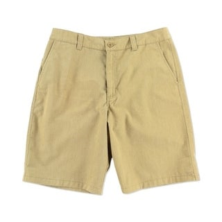O'Neill NEW Beige Heather Mens Size 30 Khakis Chinos Flat Front Shorts