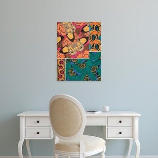 Easy Art Prints Eugene Seguy's 'Decorative Butterflies III' Premium Canvas Art
