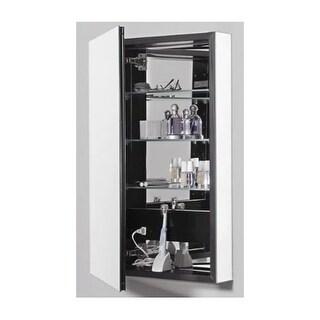 """Robern PLM2040 PL Series 39-3/8"""" x 19-1/4"""" x 4-5/8"""" Reversible Single Door Medic"""