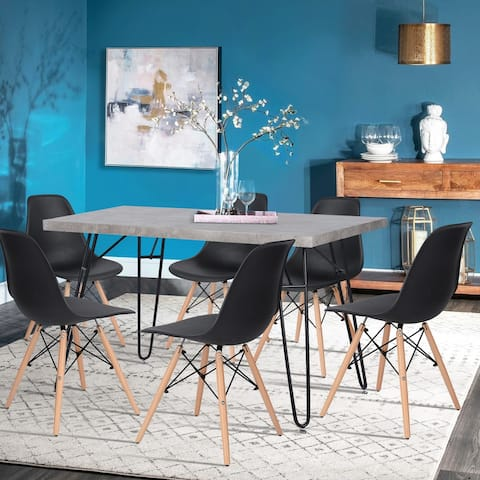 Carson Carrington Dusekarr Modern Dining Chair (Set of 6)