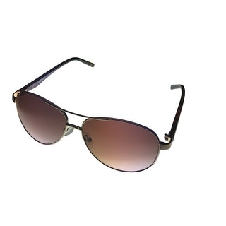 Kenneth Cole Reaction Mens Sunglass KC1260 32 Gold Metal Aviator Gradient Lens - Medium