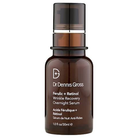 Dr. Dennis Gross Ferulic + Retinol Wrinkle Recovery Overnight Serum 1 oz / 30 ml