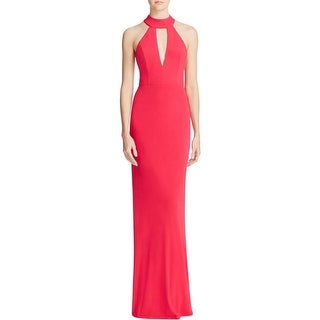 ABS Collection Womens Formal Dress Side Slit Cutout