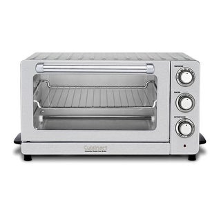Cuisinart TOB-60N Toaster Oven Broiler with Convection (Silver)-Refurbished