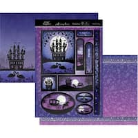 Hunkydory Twilight Kingdom A4 Topper Set-Fairytale Castle