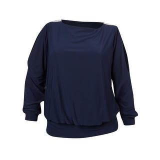 MSK Women's Embellished Cold Shoulder Jersey Bubble Blouse (Option: 1x)|https://ak1.ostkcdn.com/images/products/is/images/direct/3bc373d92c65578de9cb2a66e9478eb7b841ca8f/MSK-Women%27s-Embellished-Cold-Shoulder-Jersey-Bubble-Blouse.jpg?impolicy=medium